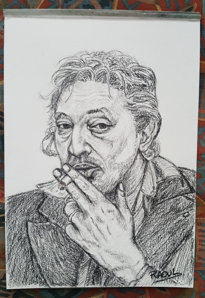 Serge Gainsbourg by Raoul.G